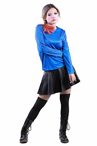 XCOSER Fashion Mystique Cosplay Unitard T-shirt for Halloween Costume Custum Made (Mystique Costumes)