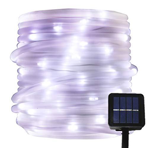 Solar 100 Led White Rope Lights in US - 8