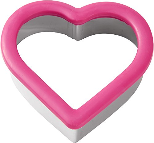 Wilton Comfort Grip Heart Cutter (Heart Shaped Cookie Cutter)