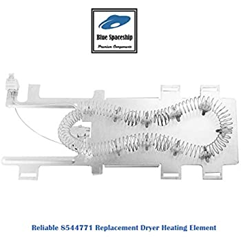 reliable 8544771 dryer heating element replacement part fit for whirlpool,  kitchenaid, roper, maytag