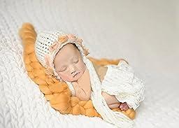 Top Roving Braid Wool Spinning Fiber newborn baby photography Photo props D-43
