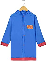 Mickey Mouse Little Boys' Waterproof Outwear Hooded Rain Slicker - Toddler