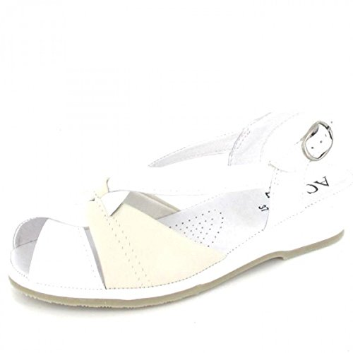 Aco Sandalette Mate, Farbe: weiss