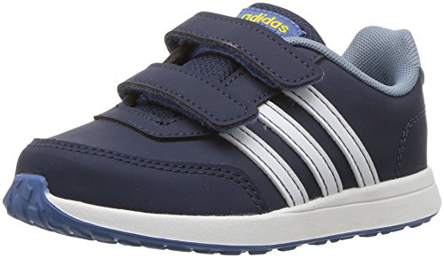 adidas Baby VS Switch 2 Cmf Inf Sneaker, Collegiate Navy,White, Raw Grey s, 4K M US Infant ()