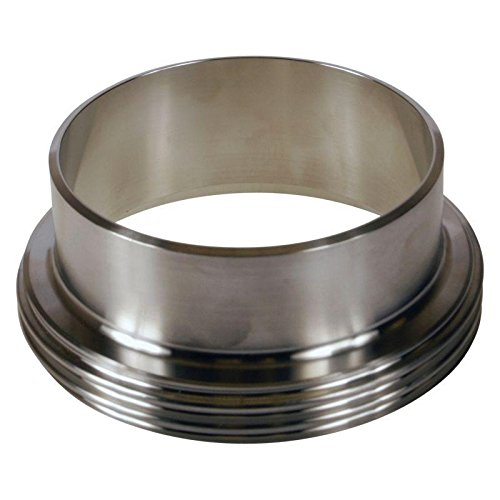 DIN Welding Male | 4 inch (100mm) - Stainless Steel SS304 / 3A - Glacier Tanks