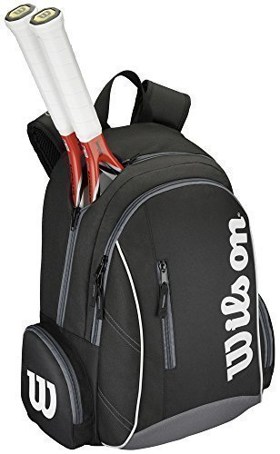 Wilson Tennis Sports Storage Luggage Holdall Advantage II Backpack One Size Black/White