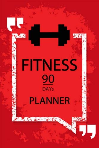 fitness planner 90 days journal diet exercise weight loss