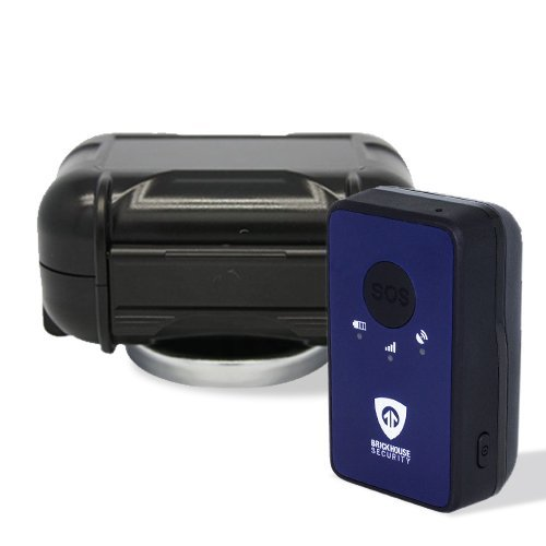 BrickHouse Security Spark Nano Real Time Mini Portable GPS People / Fleet / Vehicle Tracking Device (Nano w/ Case)