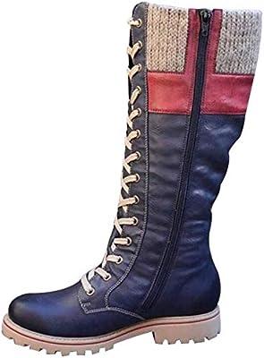 amazon botas meia caña mujer