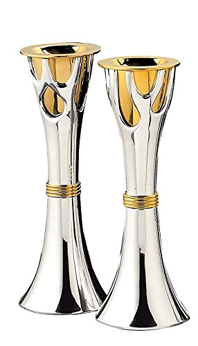 Rite Lite LTD CS-TREE-T Tree of Life(Tm)Candlestick Set,Large Two Tone 8''X3''Gift Box Rite Lite Tree of Life(Tm)Candlestick Set by Rite Lite