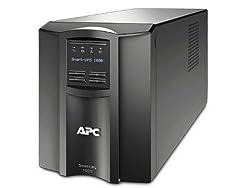 APC Smart-UPS 1000VA UPS Battery Backup with Pure Sine Wave Output (SMT1000)