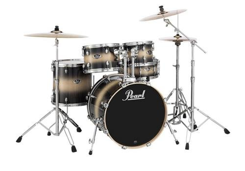 Pearl Export EXL 5-piece Shell Pack with Snare Drum - Nightshade