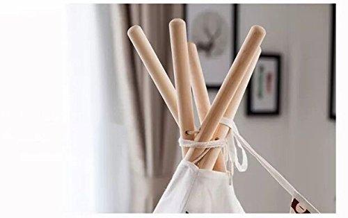 100/% naturel little dove Tente de jeu en coton Tipi pour enfants matelas compris
