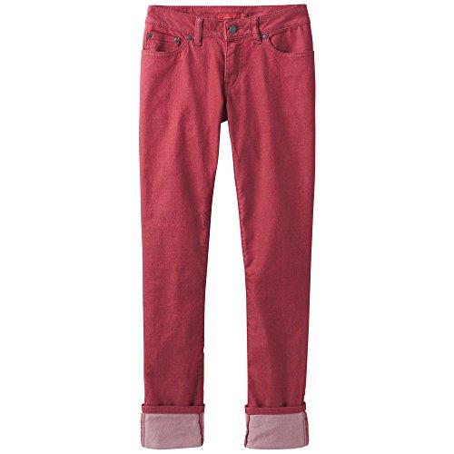 prAna Kara Jean Pants, Crushed Cran, Size 2