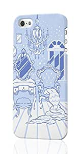 Ruby Diy 18th Century Style Pattern Image - protective 3d Rough case cover - Hard Plastic 3D ZTazxDfh0yj case cover - For iPhone 5 5S