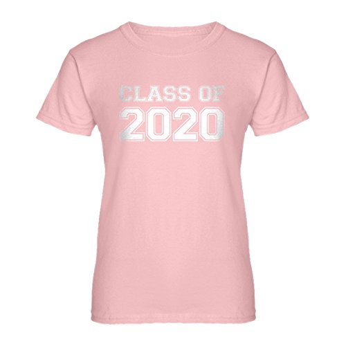 (Indica Plateau Womens Class of 2020 Large Light Pink T-Shirt)