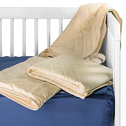 Pillow Case /& Mattress Protector Soft Cotton Baby Cot Bed Flat Fitted Sheet