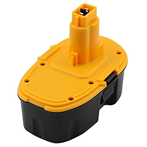 VIRSHX 18V 3.0 Ah Replacement Battery for Dewalt XRP Battery DC9096 DE9039 DE9095 DE9096 DE9098 DW9095 DW9096 DW9098 DE9503 Cordless Drill Battery High capacity dewalt 18v - 18v 18v Cordless Drill