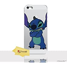 """iPhone 8 Plus (5.5"""") Stitch Silicone Phone Case / Gel Cover for Apple iPhone 8 Plus (5.5"""") / Screen Protector & Cloth / iCHOOSE / Arms Crossed"""