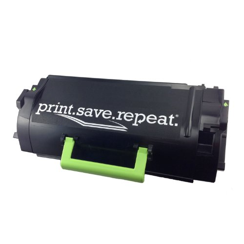 Print Save Repeat Lexmark 521HE Remanufactured Cartridge