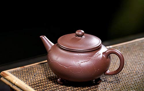 - Chinese Three Feet Clay Teapot Handmade by Panjun