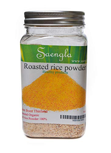 Saengla Roasted rice powder organic naturel. 350g