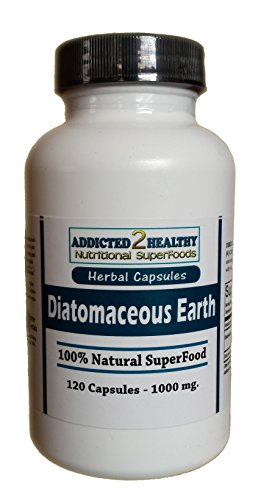 120 Diatomaceous Earth Powder Capsules (1000 mg)