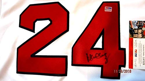 aphed Signed Red Sox Home Baseball Jersey -Psa Authenticated #B41026 ()