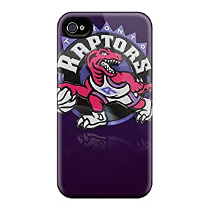 Anti-scratch And Shatterproof Toronto Raptors Phone Case For Iphone 4/4s/ High Quality Tpu Case