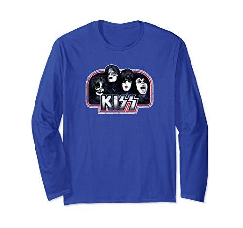 (KISS Throwback Long Sleeve T-Shirt )