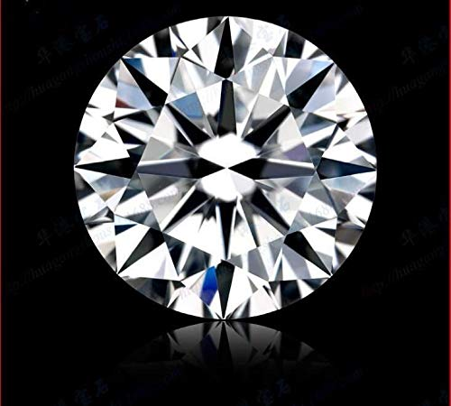 (FidgetKute Brilliant White Natural Diamond G Color 0.68cts 6mm Round Shape VVS1 Clarity)