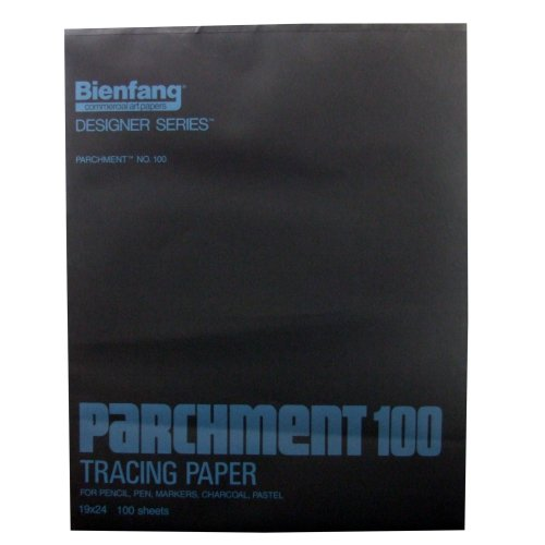 Bienfang 240261 19 by 24-Inch Pad of Parchment Paper, 100 Sheets