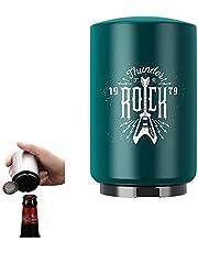 HUICHENG Bieropener Automatische flesopener RVS flesopener Magneet Flesopener Bierflesopener Een seconde om de dop te openen, Cool Kitchen Gadget.Ideaal voor bars, feesten (Rock-1)