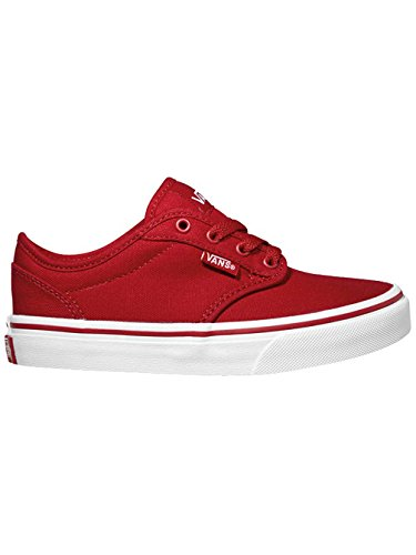 Vans Big Kids/Youth Women's Shoes Atwood Red White Sneakers 0ZNR5GH (4.5 Youth/ 6.0 -