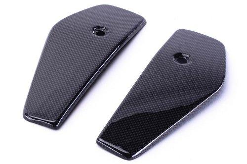 Carbon Ktm Fiber - Bestem CBKT-D6912-SPN Black Carbon Fiber Side Panels for KTM DUKE 690 2012