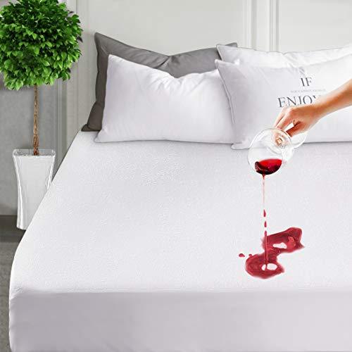 mattress pad protector queen waterproof