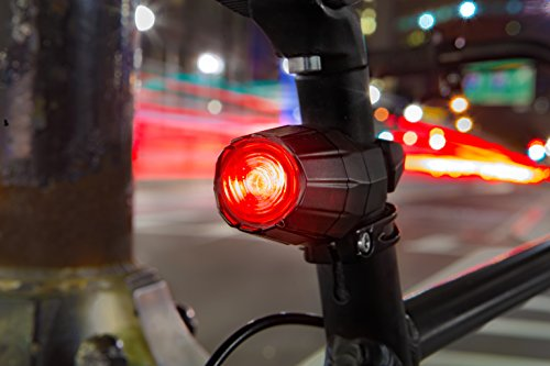 150 Lumen Theft Proof Bike Light Combo Pack For Bicycle Commuters - Bright USB Rechargeable Bicycle Lights w/ Lifetime Anti Theft Guarantee