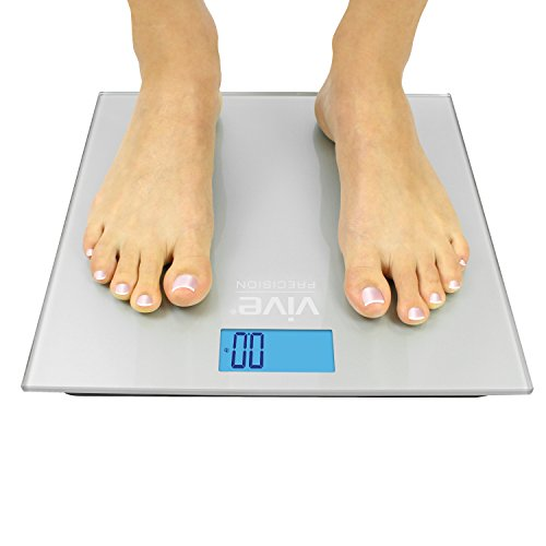 Vive-Precision-Digital-Bathroom-Scale-Weight-Scale-Measuring-Device-Electronic-Body-Scale-Easy-to-Read-Backlit-Display-Accurate-to-2-LBs