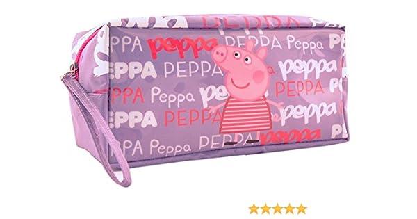 Portatodo Peppa Pig morado: Amazon.es: Juguetes y juegos