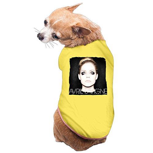 [MEGGE Avril Ramona Lavigne Whibley Cute Pet Dog Costumes Yellow M] (Buu Costume)