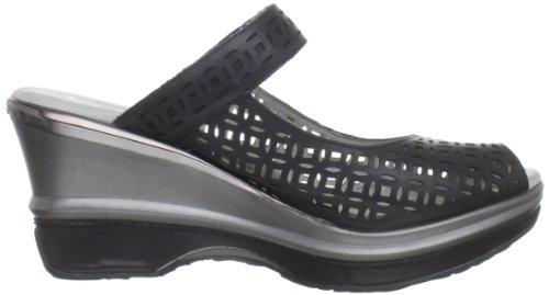 Jambu Damesorion Open-teen Sandaal Zwart