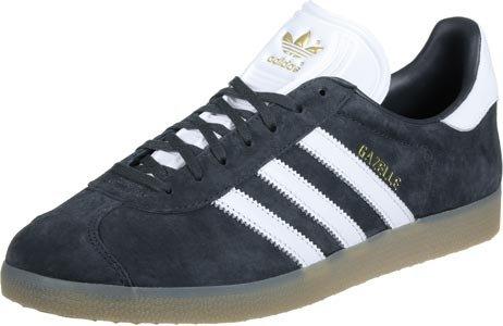 Adidas Originals Gazzella Uomini Bb5506 Scarpa Da Tennis Bianco Grigio