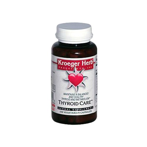 Kroeger Herb Thyroid Capsules Count product image