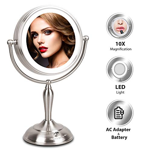 Top 10 Makeup Mirrors Lighted Magnifying Of 2020 No