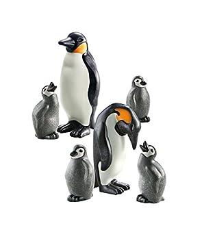 PLAYMOBIL - Familia de pingüinos (66490): Amazon.es: Juguetes y juegos
