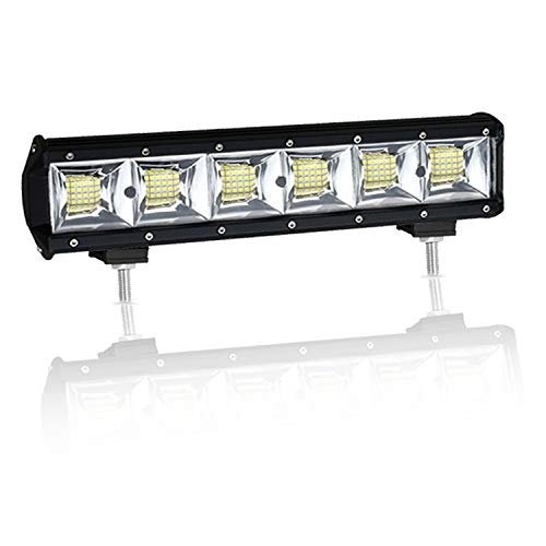 Dr.OX 13 Inch 14 Inch Flood LED Work Light Bar 288W for Off- Road Van Jeep SUV Truck Car ATV 4WD 4x4 RV UTE Tractor Vehicle Boat Driving Fog Lamp ()