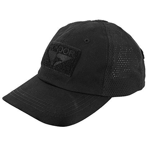 - CONDOR Mesh Tactical Cap (Black, One Size Fits All)