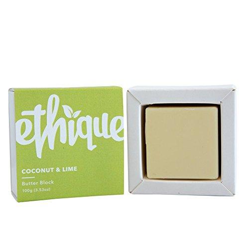 Ethique Eco-Friendly Butter Block, Coconut & Lime 3.53 oz