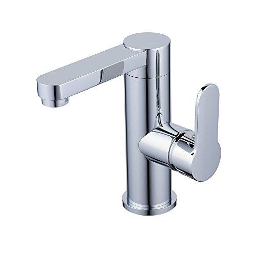 Built Single - Hiendure Swivel Spout Centerset Single Handle Bathroom Sink Vessel Faucet Stainless Steel Basin Mixer Taps