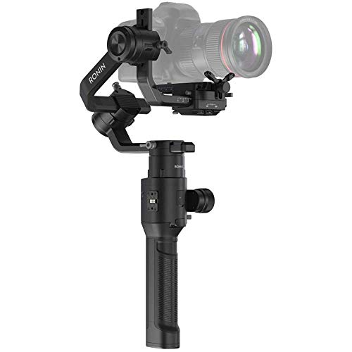 DJI Ronin-S Handheld 3-Axis Gimbal Stabilizer All-in-One Control for DSLR and Mirrorless Cameras (Renewed)